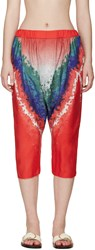 Baja East Muticolor Tie Dye Trousers