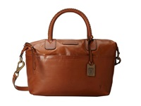 Frye Jenny Satchel Whiskey Soft Vintage Leather Satchel Handbags Tan