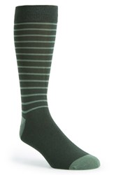 Men's The Tie Bar 'Woodland Stripe' Socks