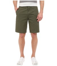 The Perfect Shorts Classic Flat Front Dockers Olive Men's Shorts