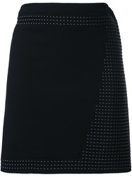 Christopher Kane Mini Hotfix Skirt Black