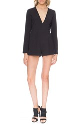 Finders Keepers The Label Women's 'Round Up' Cutout Romper Black
