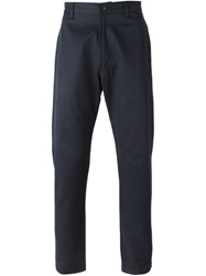 E. Tautz Classic Chino Trousers Blue