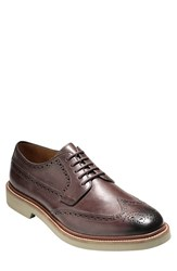 Cole Haan Men's 'Briscoe' Wingtip Java Ironstone