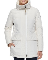 Post Card Graffias Mid Length Zip Front Jacket