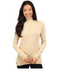 Pendleton Turtleneck Honey Women's Long Sleeve Pullover Tan