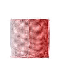 High Square Scarves Red