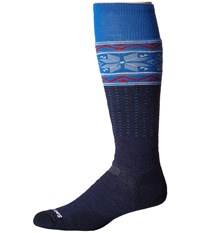 Smartwool Phd Slopestyle Medium Wenke Navy Men's Knee High Socks Shoes