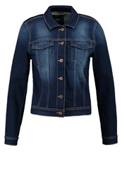 Only Onlwesta Denim Jacket Dark Blue Denim Dark Blue Denim