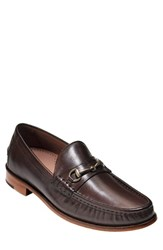 Cole Haan Men's 'Gibson' Bit Loafer Chestnut Leather
