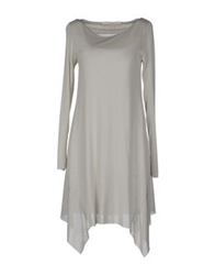 Spina Short Dresses Light Grey
