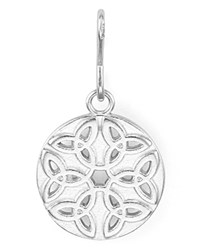 Alex And Ani Endless Knot Charm Rafaelian Silver