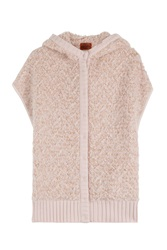Missoni Oversized Vest With Wool Rose