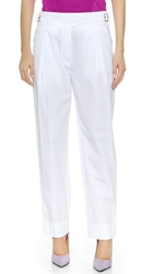 Nina Ricci Straight Pants White