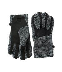 The North Face Women's Denali Thermal Etip Glove Tnf Black Mid Grey Stripe Extreme Cold Weather Gloves