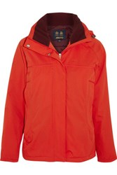 Musto Equestrian Canter Hooded Canvas Jacket Red