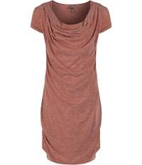 Bench Creative Direction Cowl Neck Dress Blush Marl