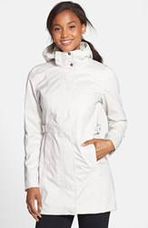 The North Face Women's 'Laney' Trench Raincoat Moonlight Ivory