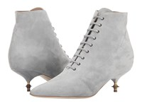Vivienne Westwood Laceup Boot Grey Women's Boots Gray