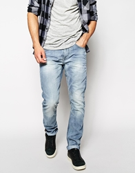 Blend Of America Blend Jeans Twister Slim Fit Vintage Light Wash Lightwash