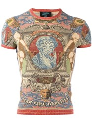 Jean Paul Gaultier Vintage Knitted Printed T Shirt
