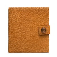 Parabellum Tan Leather 10 Card Wallet Brown