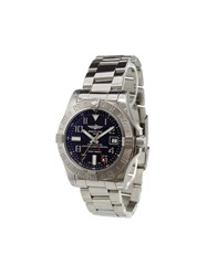 Breitling 'Avenger Ii Gmt' Analog Watch Stainless Steel