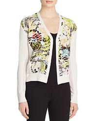 Magaschoni Jungle Print Cashmere Cardigan Multi