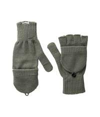 Converse Core Mitten Flip Gloves Charcoal Extreme Cold Weather Gloves Gray