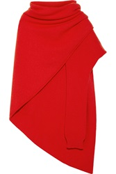 Lemaire Asymmetric Wool Scarf