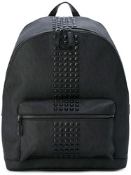 Michael Kors Studded Backpack Black
