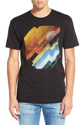 Howe 'Here Comes The Sun' Short Sleeve Crewneck T Shirt Black Multi