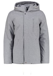Elvine William Light Jacket Grey Melange Mottled Grey