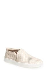 Rag And Bone 'Kent' Perforated Leather Slip On White