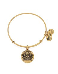 Alex And Ani Queens Crown Charm Bangle Gold