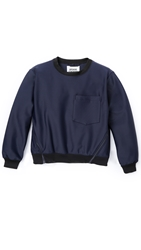 Opening Ceremony Tropez Oversized Pocket Pullover Eclipse Blue