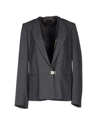 Pinko Black Blazers Grey