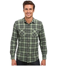 Volcom Kanter Long Sleeve Woven Sage Men's Clothing Green
