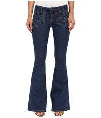 Free People Stella High Rise Flare Jeans Blue Women's Jeans