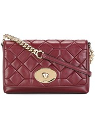 Coach Quilted Crossbody Bag Red