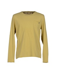 40Weft T Shirts Light Yellow