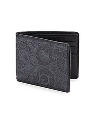 Robert Graham Paisley Wallet Black