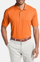 Men's Cutter And Buck 'Genre' Drytec Moisture Wicking Polo Tennessee Orange