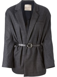 Erika Cavallini Semi Couture 'Leni' Jacket Grey