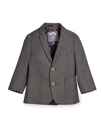 Appaman Glen Plaid Two Button Professor Blazer Gray Size 4 14 Houndstooth