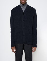 Mhl Pocket Cardigan Navy