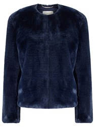 Windsmoor Fur Bomber Navy