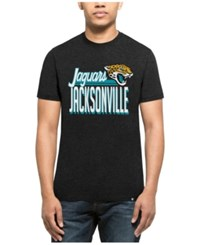 47 Brand '47 Men's Jacksonville Jaguars Script Club T Shirt Heather Black