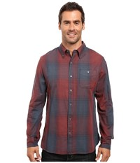 Merrell Farvel Flannel Shirt Ink Men's Long Sleeve Button Up Navy