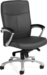 Global Flexar Series Office Chair 3612Lm 2 Leather Office Chairs
